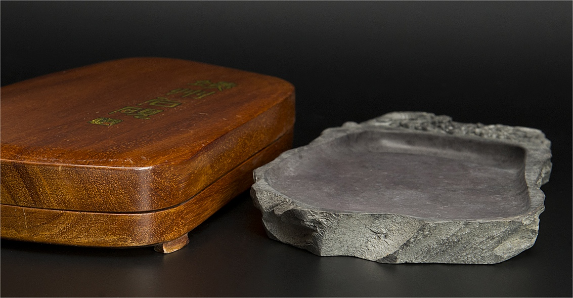 yahoo代拍 - 商品名称: 清 端石花纹砚